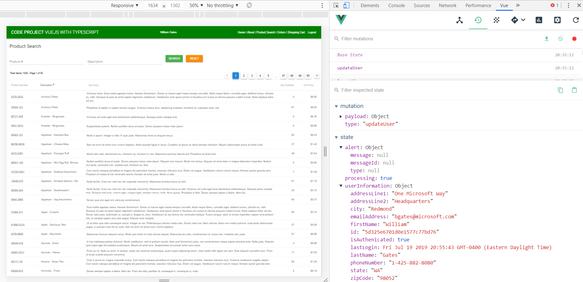 Vuetify Rules Examples