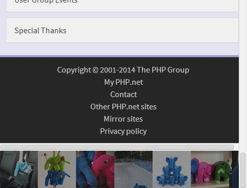 php images