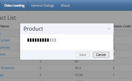 Dynamically Updatable and AJAX Data Enabled JQuery Web Page