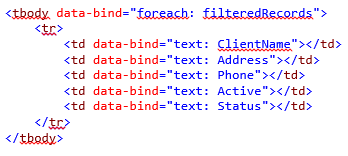Searching, Filtering and Sorting with KnockoutJS in C# MVC - CodeProject