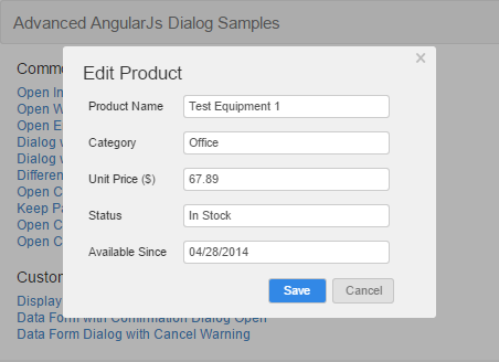 An Advanced and Easy-use AngularJS Modal Dialog - CodeProject
