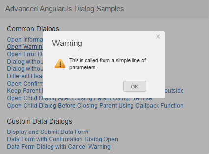 An Advanced And Easy Use Angularjs Modal Dialog Codeproject