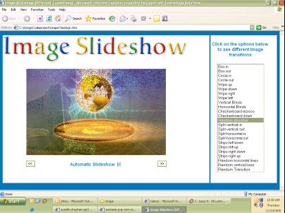 Web-Based Image Slideshow using JavaScript - CodeProject