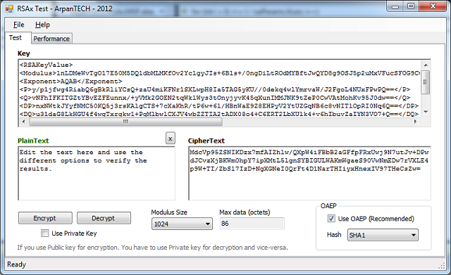 RSA Library with Private Key Encryption in C# - CodeProject
