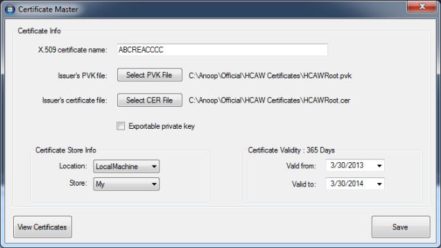 digital certificate creator tool codeproject