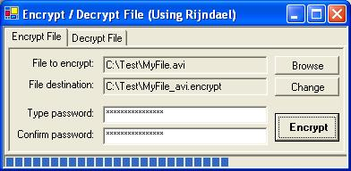 Encrypt/Decrypt Files in VB NET (Using Rijndael) - CodeProject