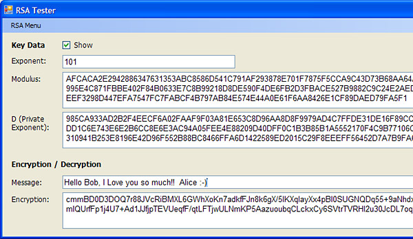 RSA Private Key Encryption - CodeProject