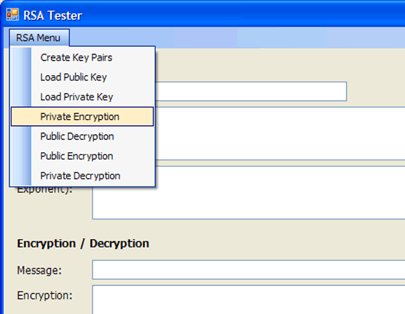 get public key from private pem