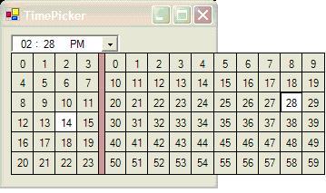 NET TimePicker - CodeProject
