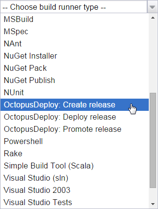 octopack options