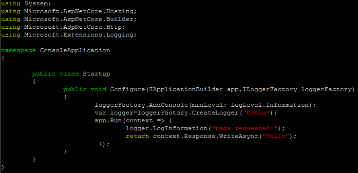 .net core linux