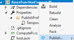 Azure Function: Compute Pi Stress Test - CodeProject