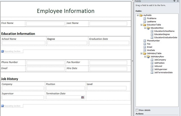 Dynamically Create, Populate and Submit an InfoPath Form to a ...