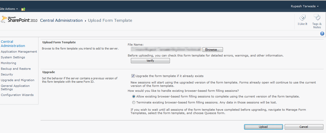 infopath 2010 form templates