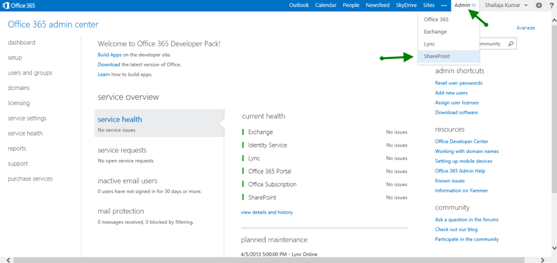 SharePoint 2013 Online Administration Center What Administrators – Sharepoint Administrator Duties