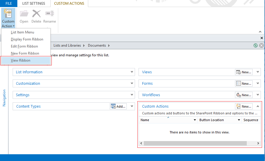 how to add indicators to sharepoint custom list