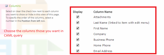 Building CAML for querying List in SharePoint - CodeProject