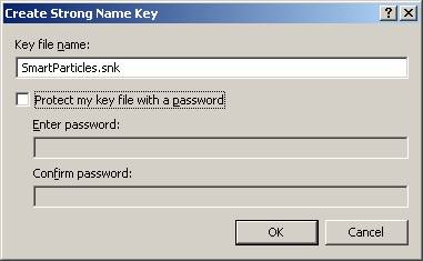 Create a strong name key file