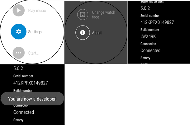Android Wear through ADB - CodeProject