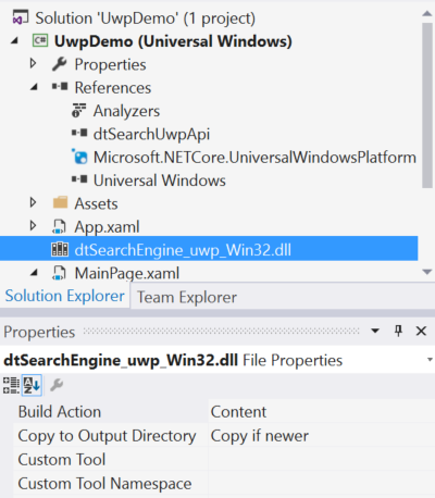 Put a Search Engine in Your Windows 10 Universal (UWP