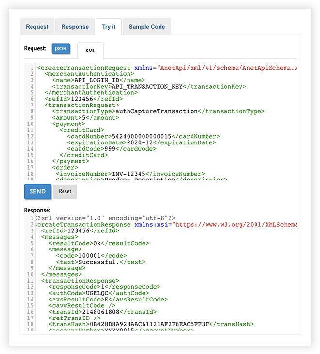 Image 1 for Customize payment solutions with the new, streamlined API from Authorize.Net