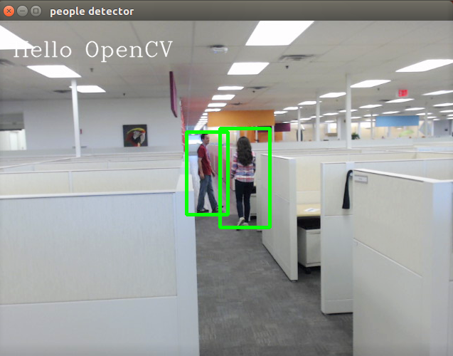 People Detection using OpenCV in Arduino Create - CodeProject