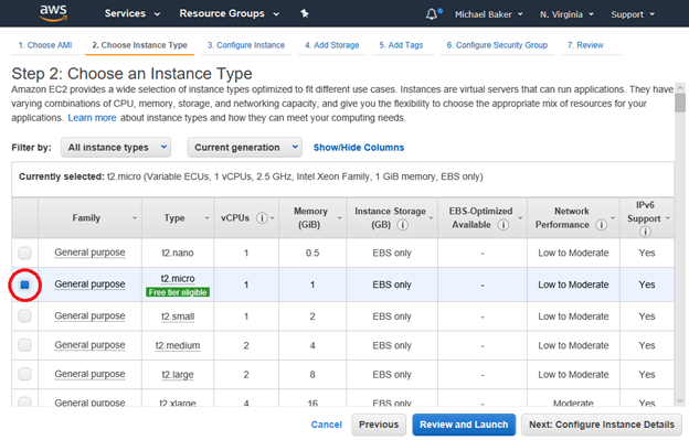 Using dtSearch on Amazon Web Services with EC2 & EBS