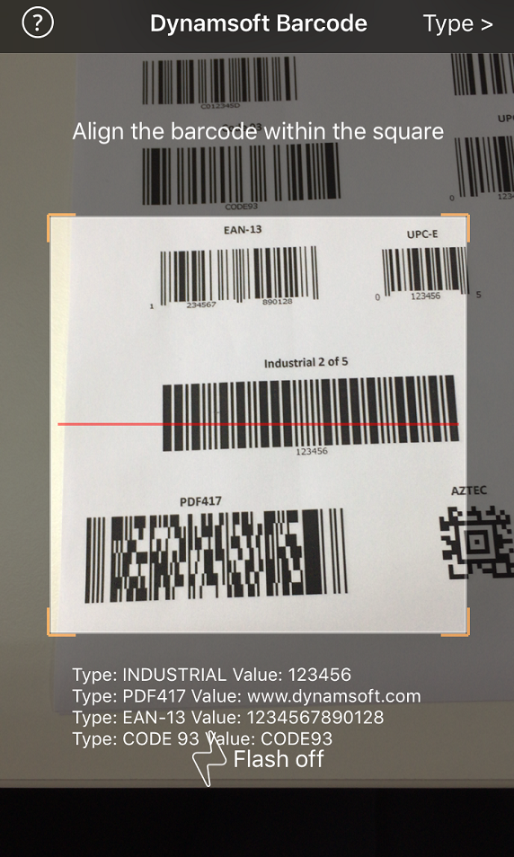 Real-time Barcode Scanning from Camera Stream - CodeProject