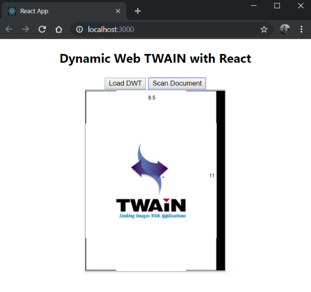Dynamic Web TWAIN Programming for Angular, React and Vue