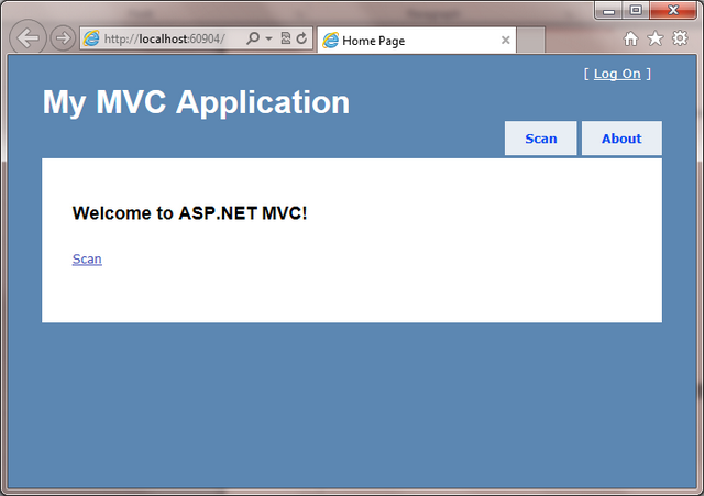 Scan and Upload Documents in ASP NET MVC App using Dynamic