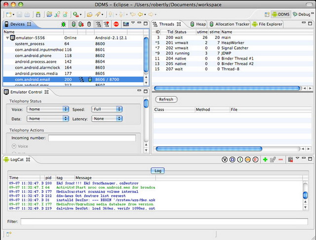 How to debug an App for Android* x86 and the tools to use
