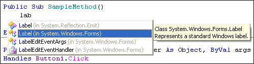 ReSharper provides Import Symbol Completion for VB.NET