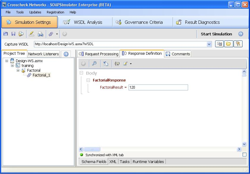 Introduction to Web Services Simulation with SOAPSimulator