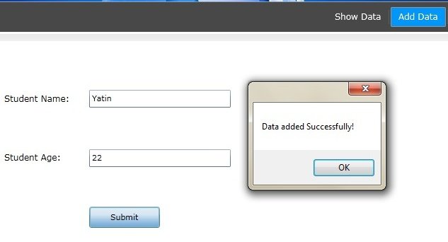 how to add data or delete data from master page