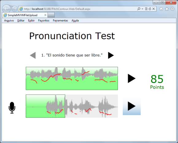 Silverlight Pronunciation Test - CodeProject