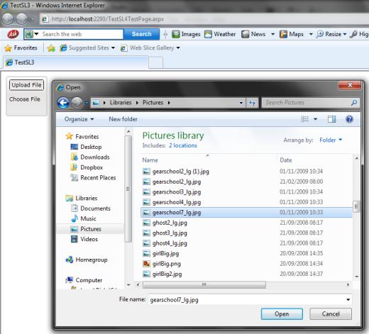 Silverlight MVVM Lib and FileUploader Using HttpHandler - CodeProject
