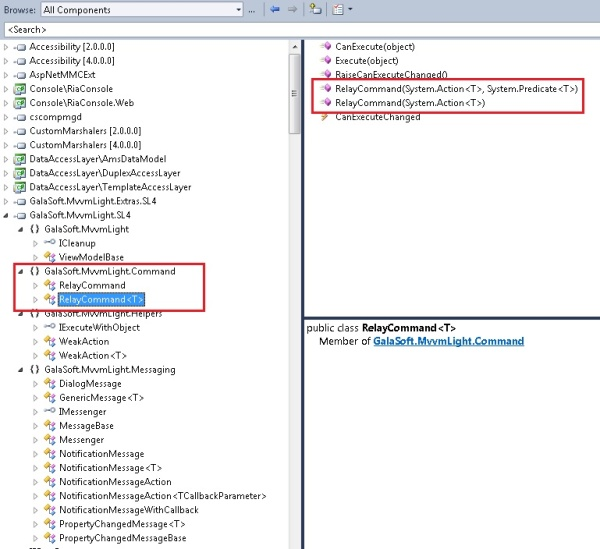 Using MvvmLight With (XAML) Silverlight 4 Or WPF