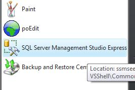 SQL Server Management Studio Express - FREE edition