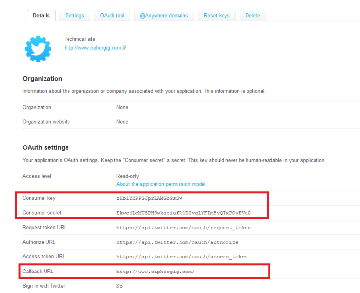 Twitter API v1 1 with OAuth - CodeProject