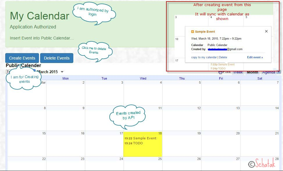 Google Calendar Api With Javascript  Codeproject