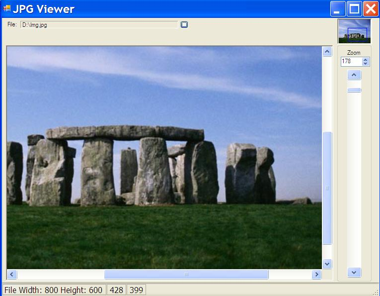 C++/CLI Image Viewer with zoom and scroll - CodeProject