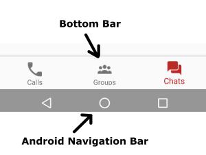 Android Navigation Bar Menu Tutorial using Bottom Bar