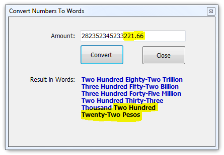 Convert Numbers to Words Neatly - CodeProject