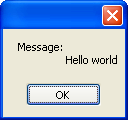 """Hello World"" demonstration of StringBuilderPlus."