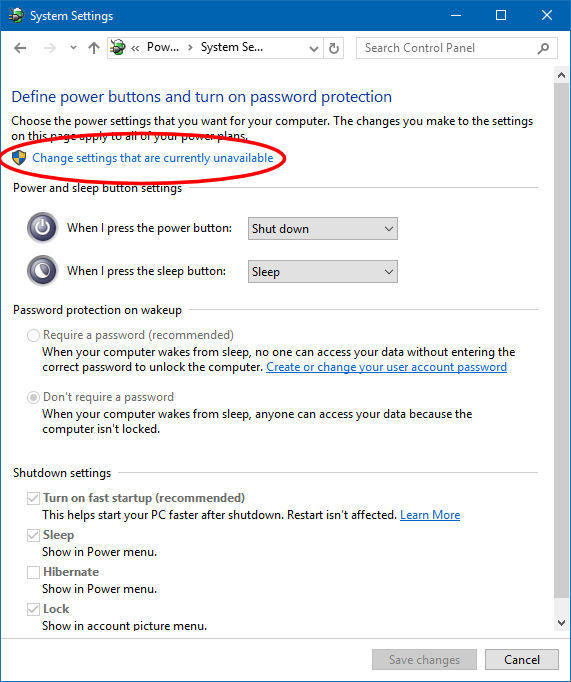 Disabling Fast Startup in Windows 10 - CodeProject