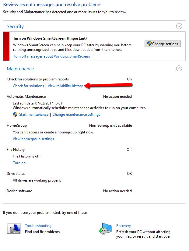 Windows 10 Troubleshooting - CodeProject