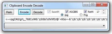 Clipboard Codec - CodeProject