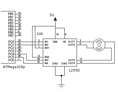 stepper motor driver circuit diagram pdf