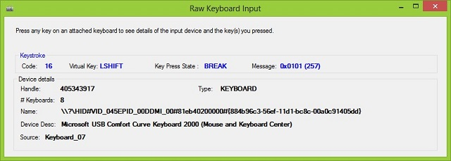 Using Raw Input from C# to handle multiple keyboards - CodeProject