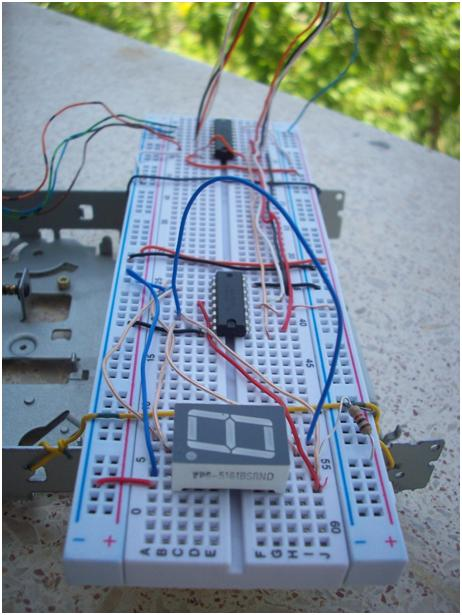 Sensational Stepper Motor And 7 Segment Display Control With Parallel Port Wiring Database Gramgelartorg
